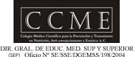 COLEGIO MEDICO CIENTIFICO PARA LA PREVENCION Y TRATAMIENTO